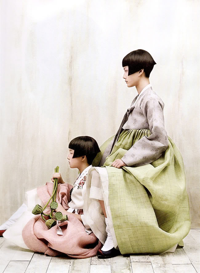 hanbok - vogue korea