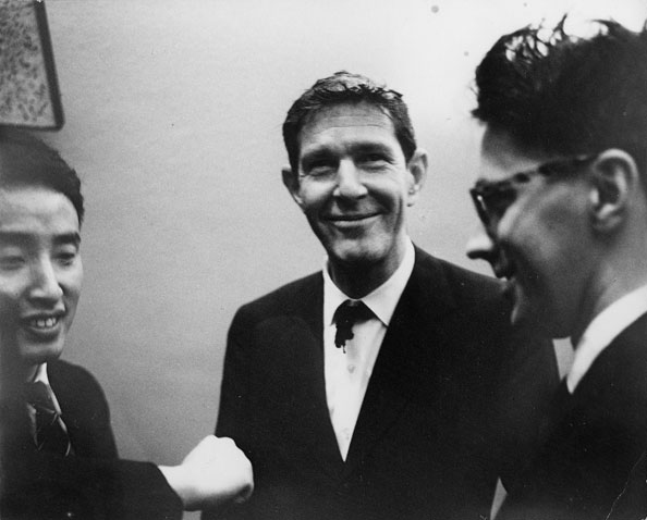 Nam June Paik, John Cage et David Tudor
