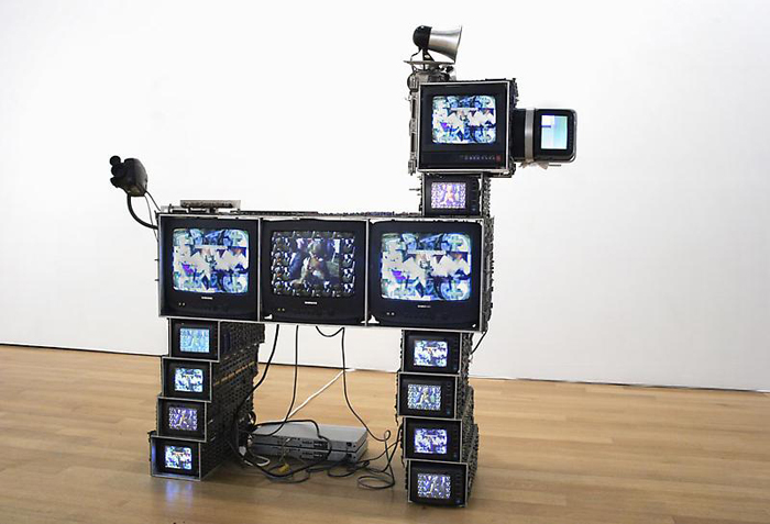 nam june paik dog