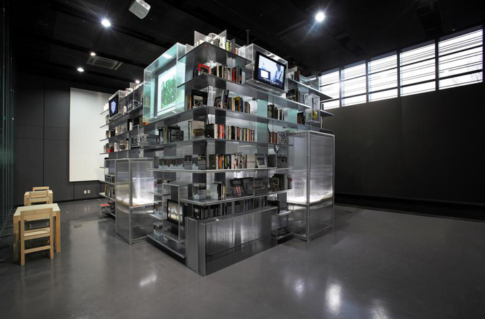 bibliotheque nam june paik
