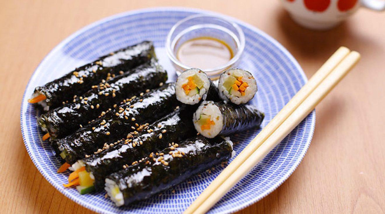 Recette du kimbap cuisine cor enne cahier de seoul for Cuisine coreenne