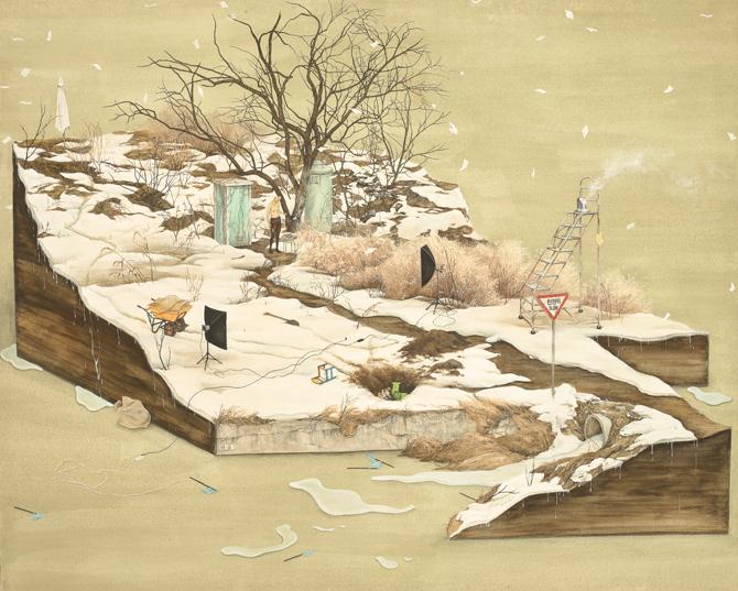 peinture coréenne