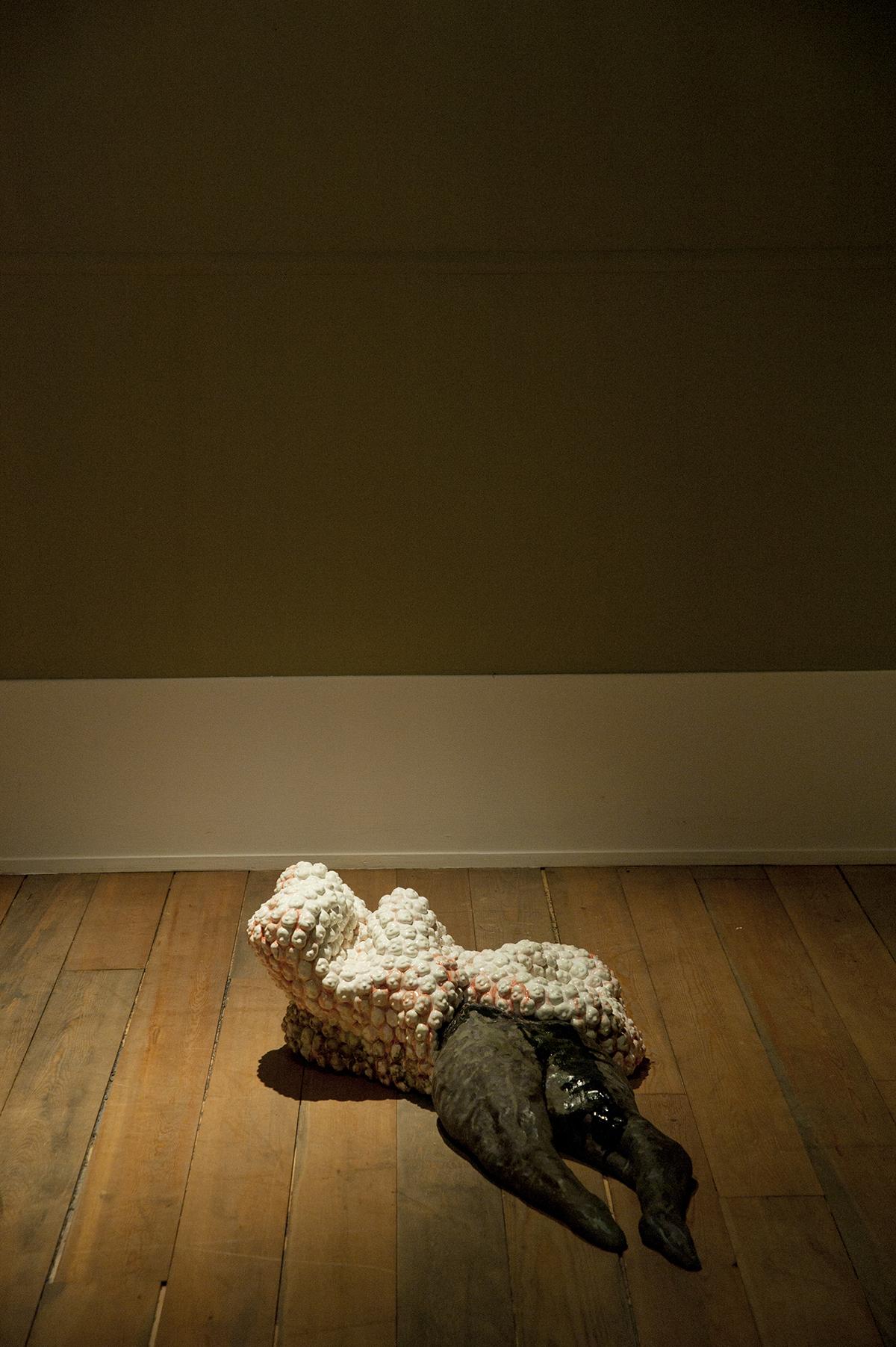 내면 풍경 Paysage intérieur - Face à l'immortalité / Installation de deux pièces / Photo©Hyojae Park / 2014