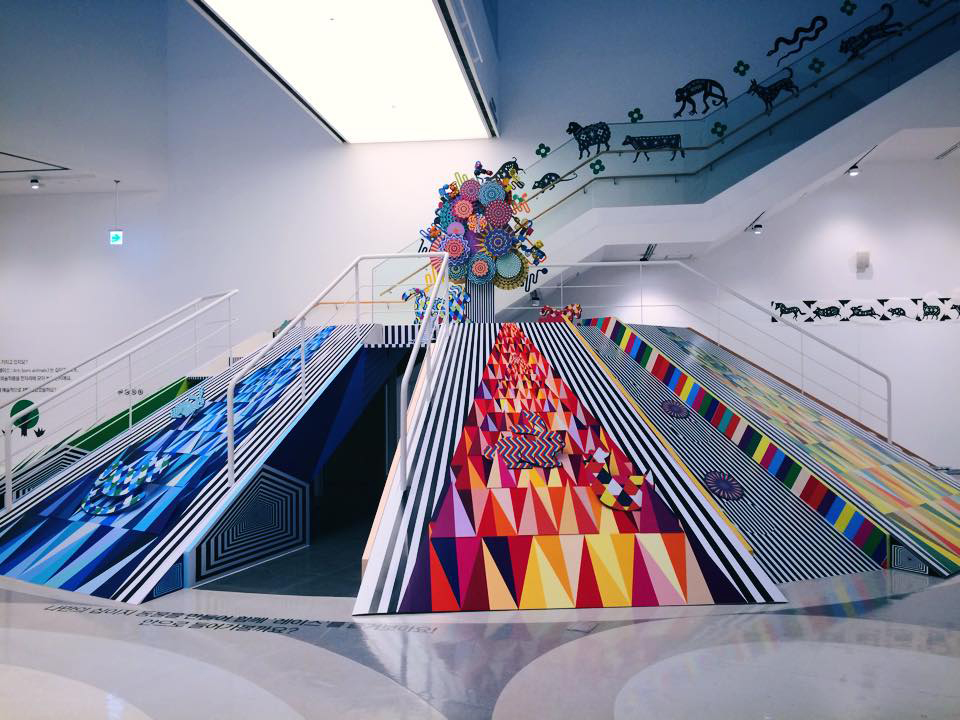 hill of hallucination / 6m * 4m / kinetic installation / 2014