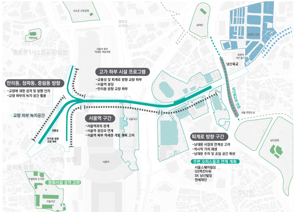 서울역 고가도로, Seoul station highway