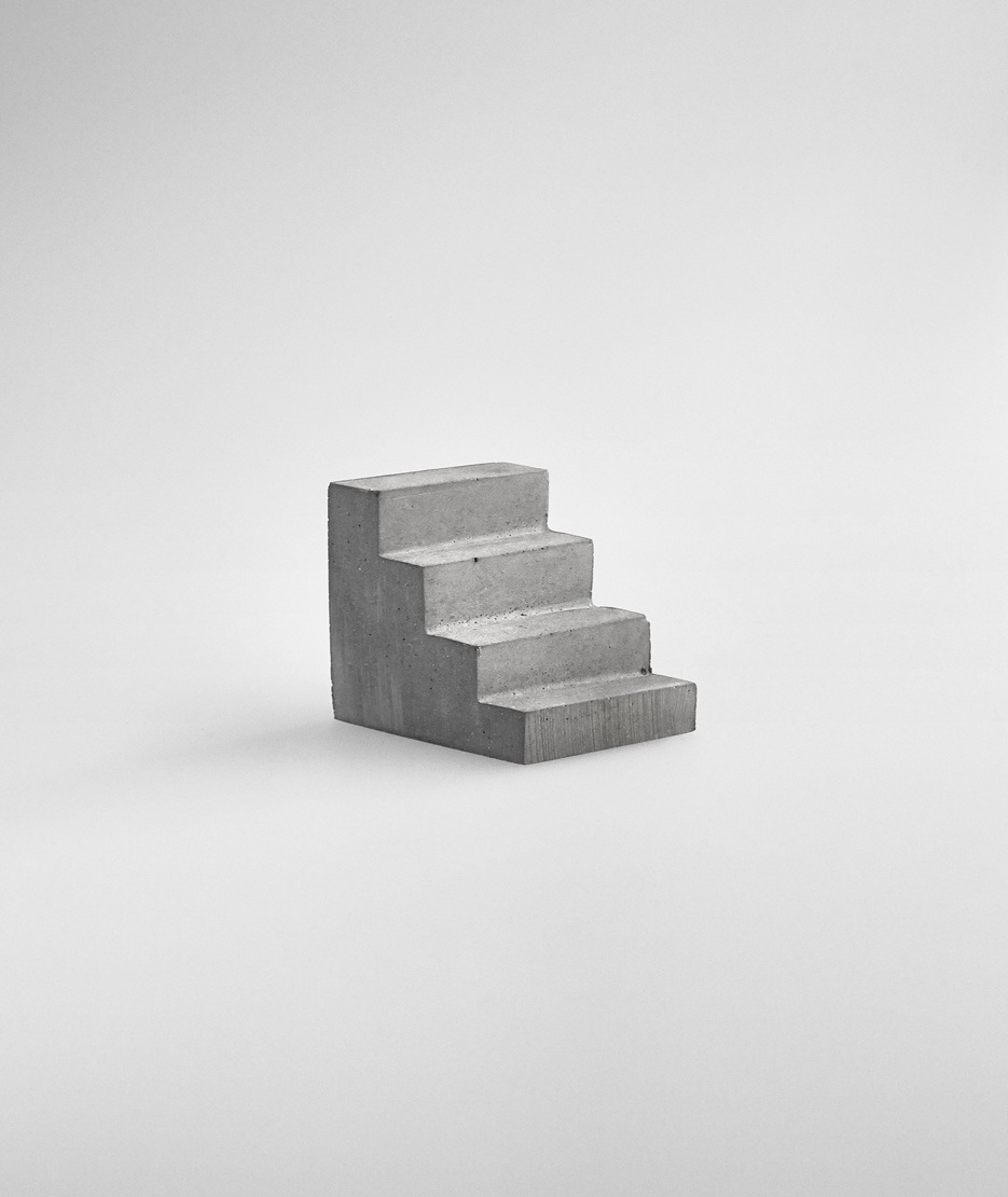 Concrete Staircase Paperweight