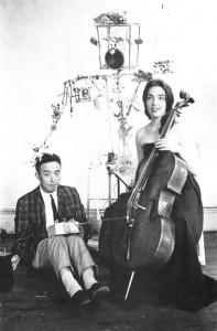 charlotte Moorman - Nam June Paik