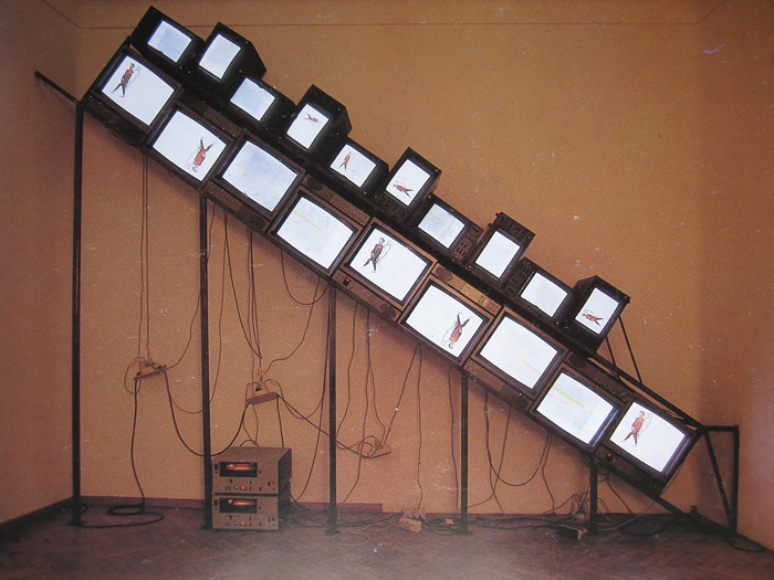 Nam June Paik - Hommage Stanley Brown - 1984