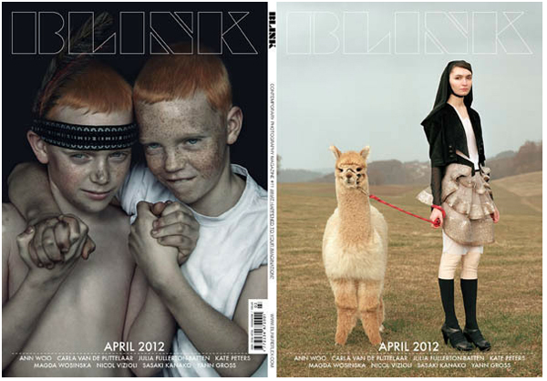 blink magazine - cover