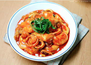 tteokbokki - cuisine coréenne