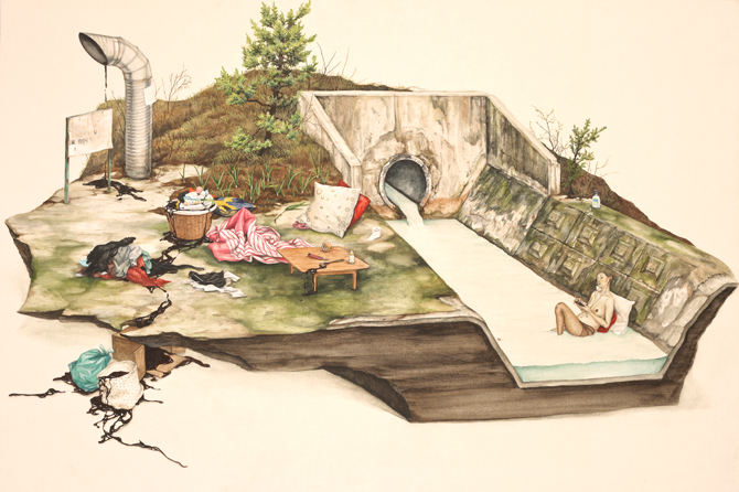 lee jinju - peintre coréen