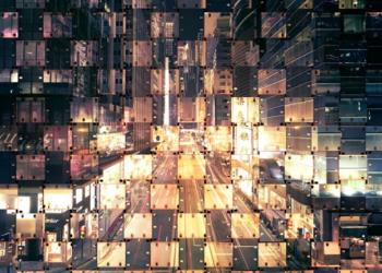collage photo de villes