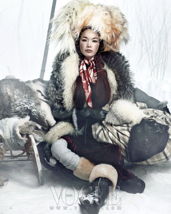 vogue korea - hiver