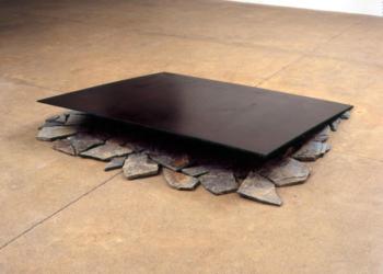 artiste lee ufan - sculpture