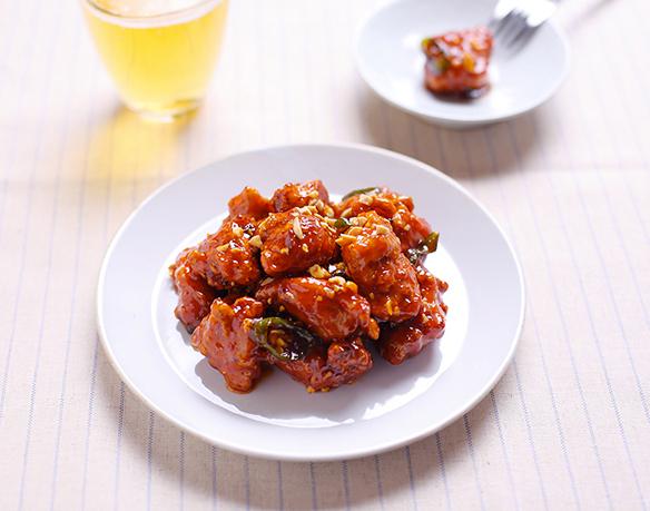 poulet frit coréen