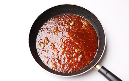 poulet frit coréen sauce