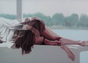 peintre contemporain coréen - Horyon Lee - alpha Zero - jerome ferrari