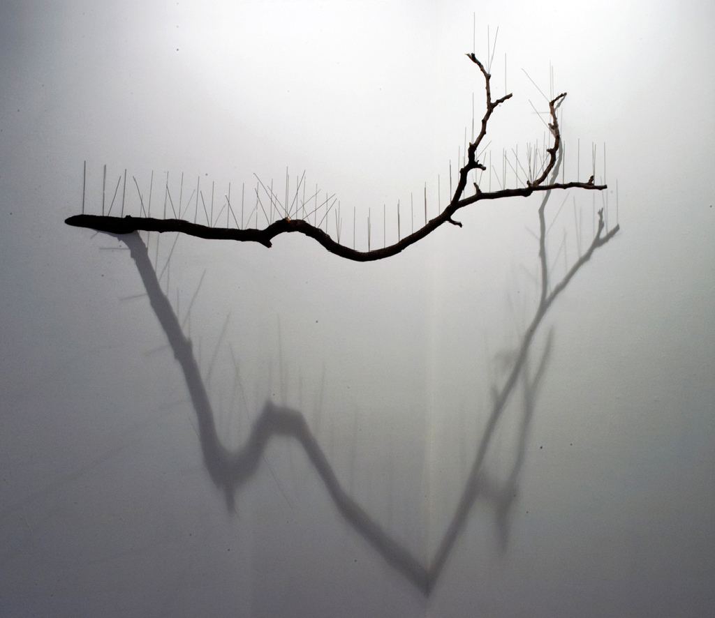 Acupuncture-Tree-Steel-Mixed-media-Installation