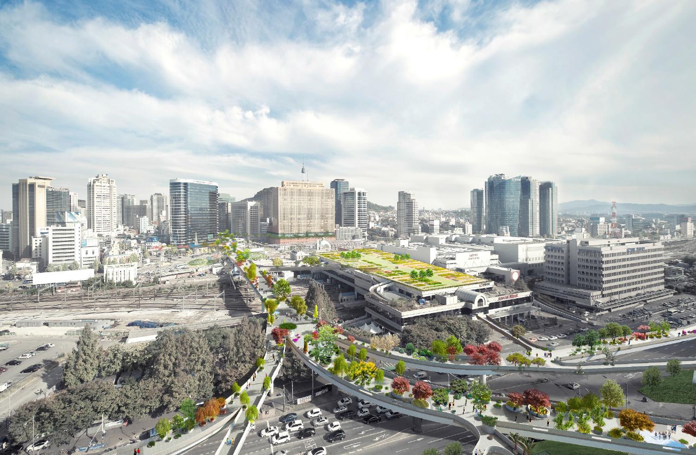 Seoul Highway - promenade - seoul arboretum