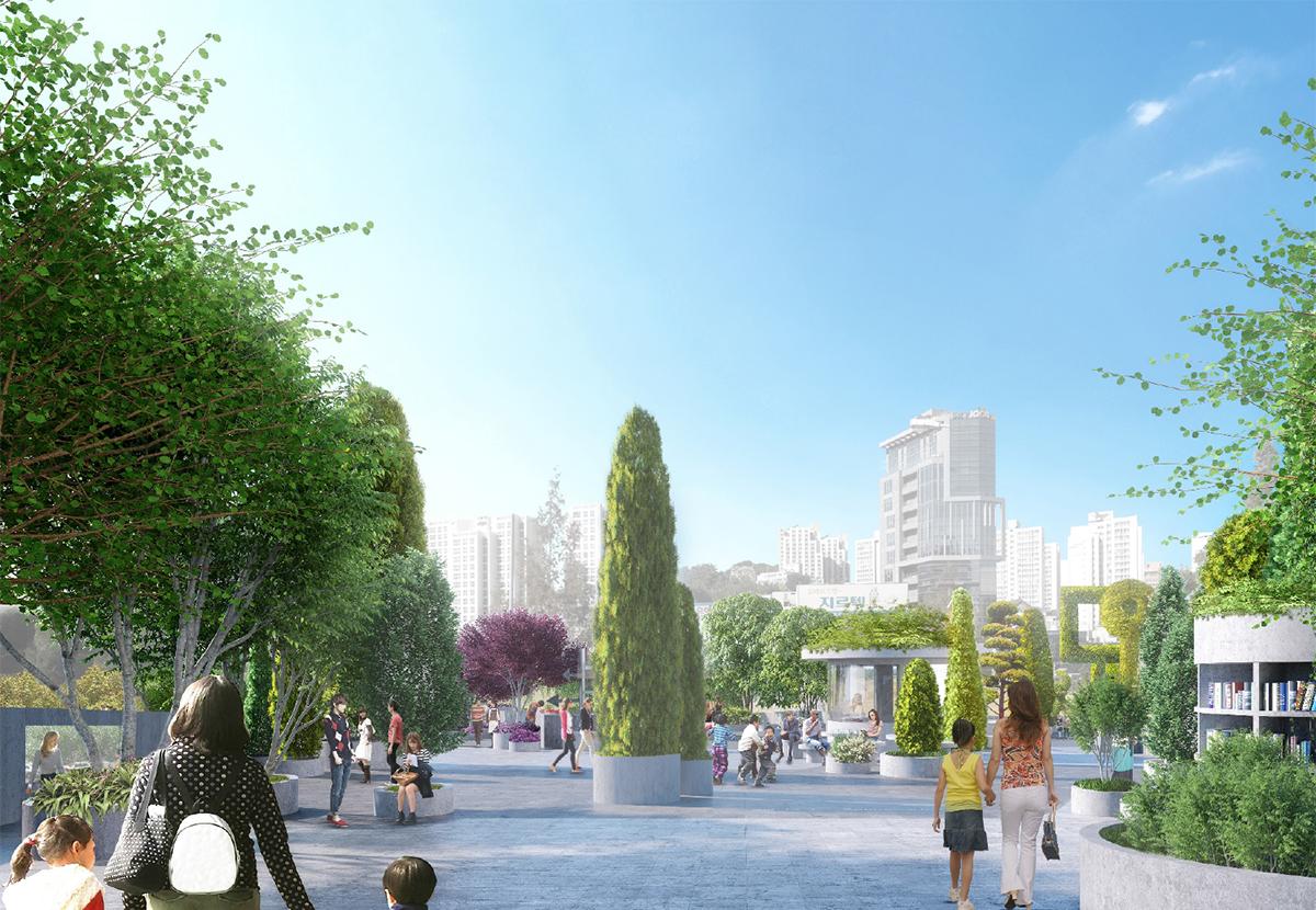 MVRDV, The Seoul Arboretum