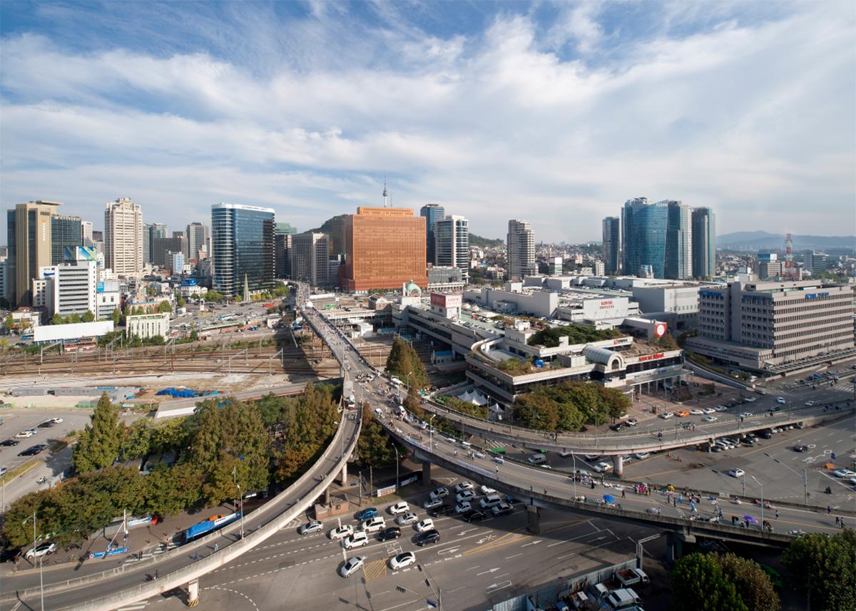 현재의 서울역 고가도로, Seoul station highway, état actuel