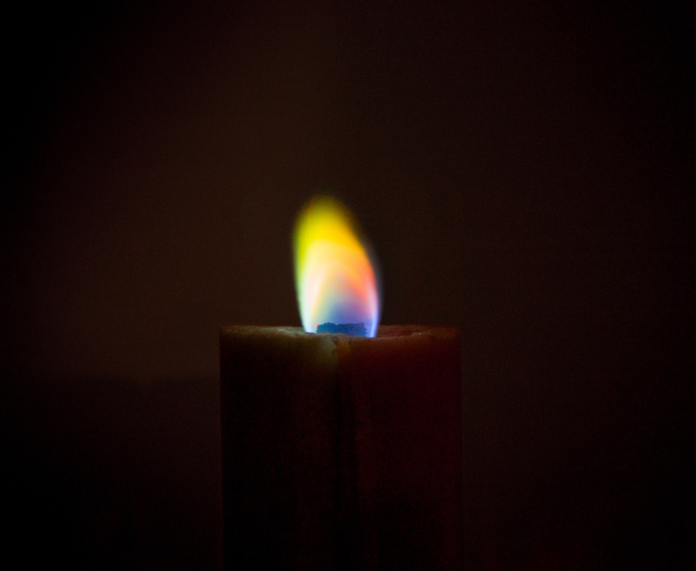Full color candle ©Wonmin Park