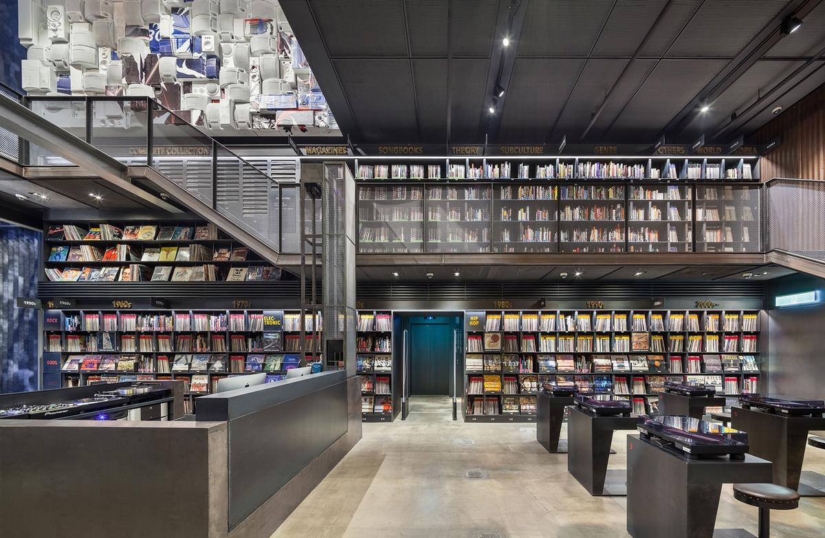 Music library + understage - Seoul
