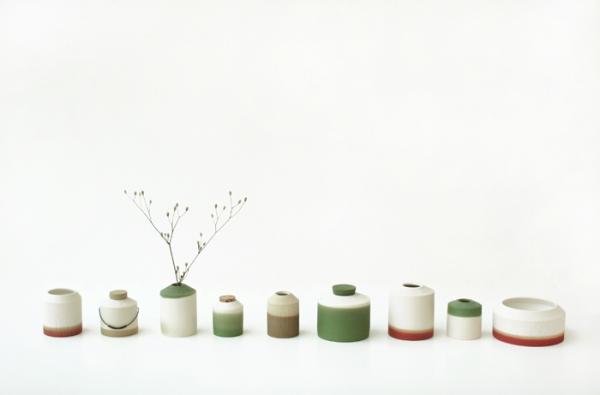 ceramique colorée coréenne