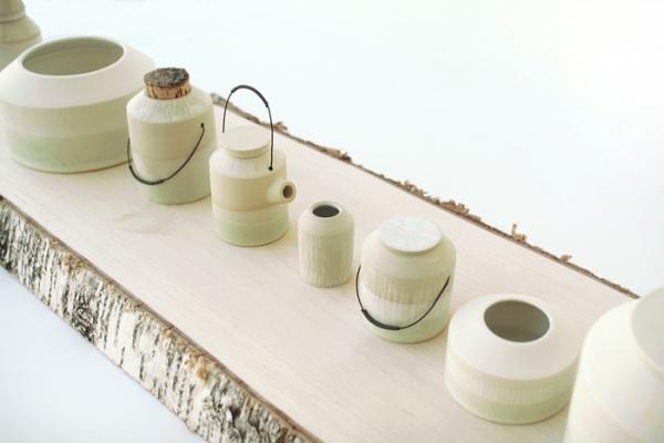vase ceramique coréenne plante