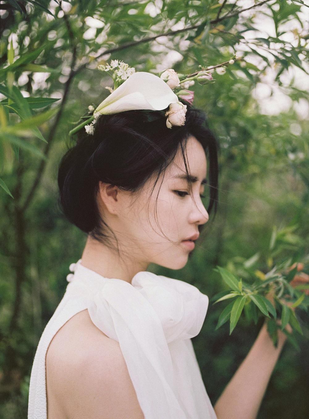 portrait femme coréenne
