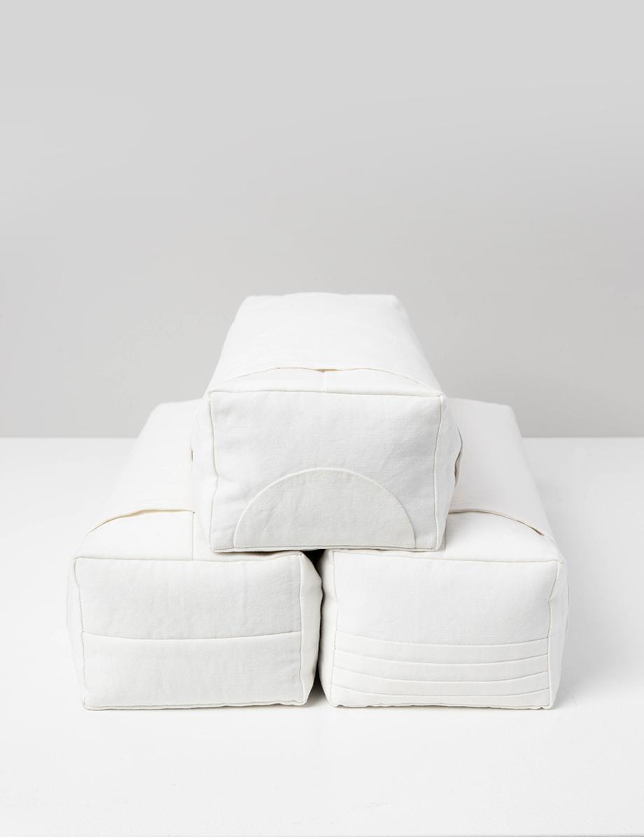 oreiller coréen blanc
